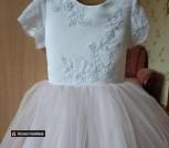 Детское нарядное платье 98 - 104 (4 года)