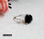 Кольцо Черный ангел