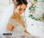 Свадебная фата 165-170 см