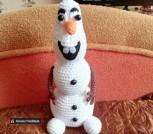 Снеговик Олаф. Ручная работа