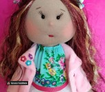 Интерьерная кукла 'Алиса'