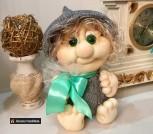 Интерьерная кукла-гном из капрона