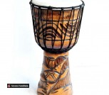 Барабан Джамбе 40 см с резьбой