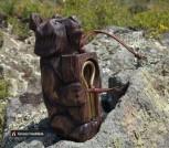 Малый алтайский варган + футляр Медведь музыкант