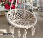 Подвесные качели мини из текстиля