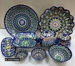 Узбекская посуда ручная работа