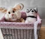 Плетеные корзины на заказ, бумажная лоза