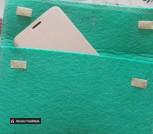 Чехол-клатч из фетра ручной работы