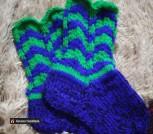 Вязаные тепленькие носочки любого цвета и размера