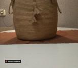 Декоративная корзина ручной работы
