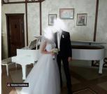 Продам платье свадебное.Очень красивое.Размер 42-44