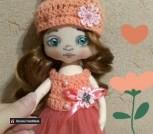 Кукла ручной работы Кнопа