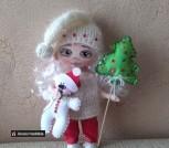 Новогодняя Куколка Гномочка