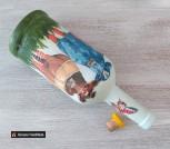 Декоративная бутылка для масла Бычки