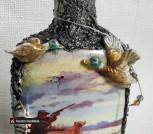 Бутылка с декором 'Лучшему ОХОТНИКУ'