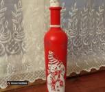 Бутылки Семейка снеговиков дарит радость