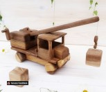 Деревянная машинка Подъемный кран