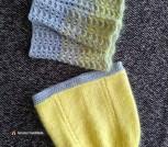Весенний комплект: шапочка и снуд