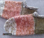 Шерстяные носочки-следочки
