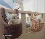 Подвесные корзины для детской кроватки