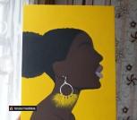 Картина Black woman