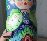 Матрешка из 10 кукол новая (nesting doll)