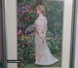 Картина вышитая крестиком из творчества Сандры Кук