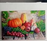 Картина маслом 'Урожай'