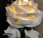 Ночник светильник Роза с бутонами