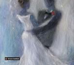 Картина из шерсти 'Танец'