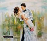 Портрет маслом Свадебный портрет