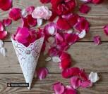 Натуральные лепестки роз (микс) 500 шт.