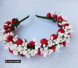 Свадебные венки из цветов на голову Сахарные ягоды