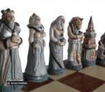 Шахматы ручной работы арт. 159 Фантазия