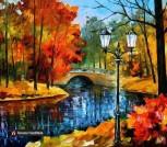 Картина по номерам 'Осенний парк' (400х500 мм)