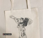 Эко-сумка хозяйственная Angel ручной работы
