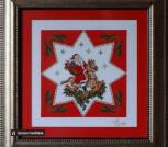 Картина «Вифлеемская звезда»,ручная работа, вышивка.